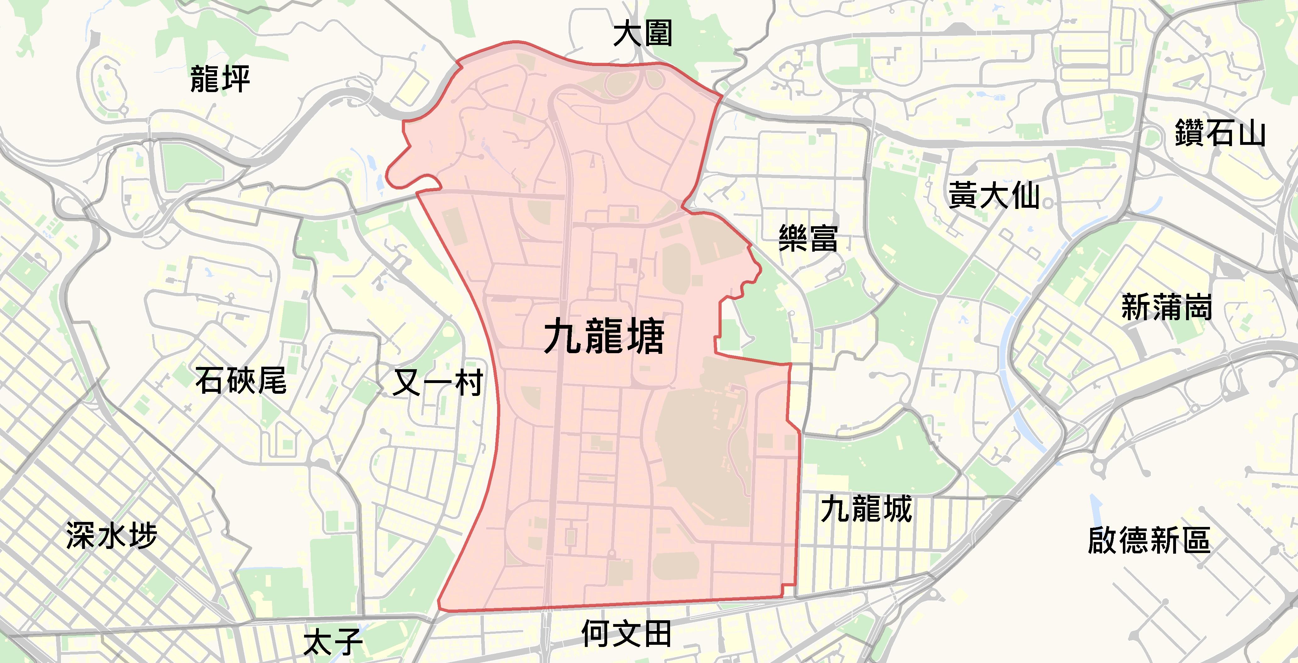 九龍塘@中原樓市片區