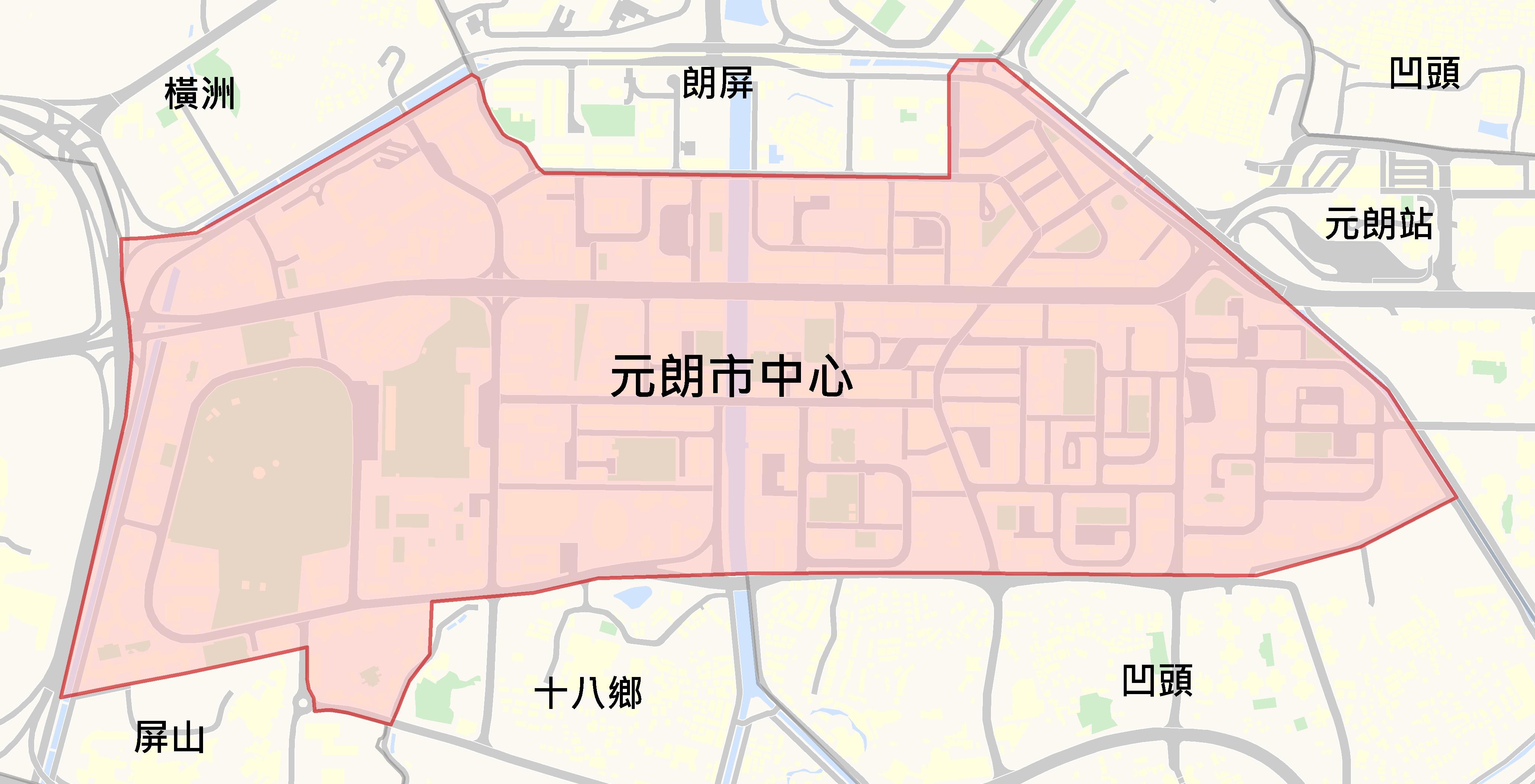 元朗市中心@中原樓市片區
