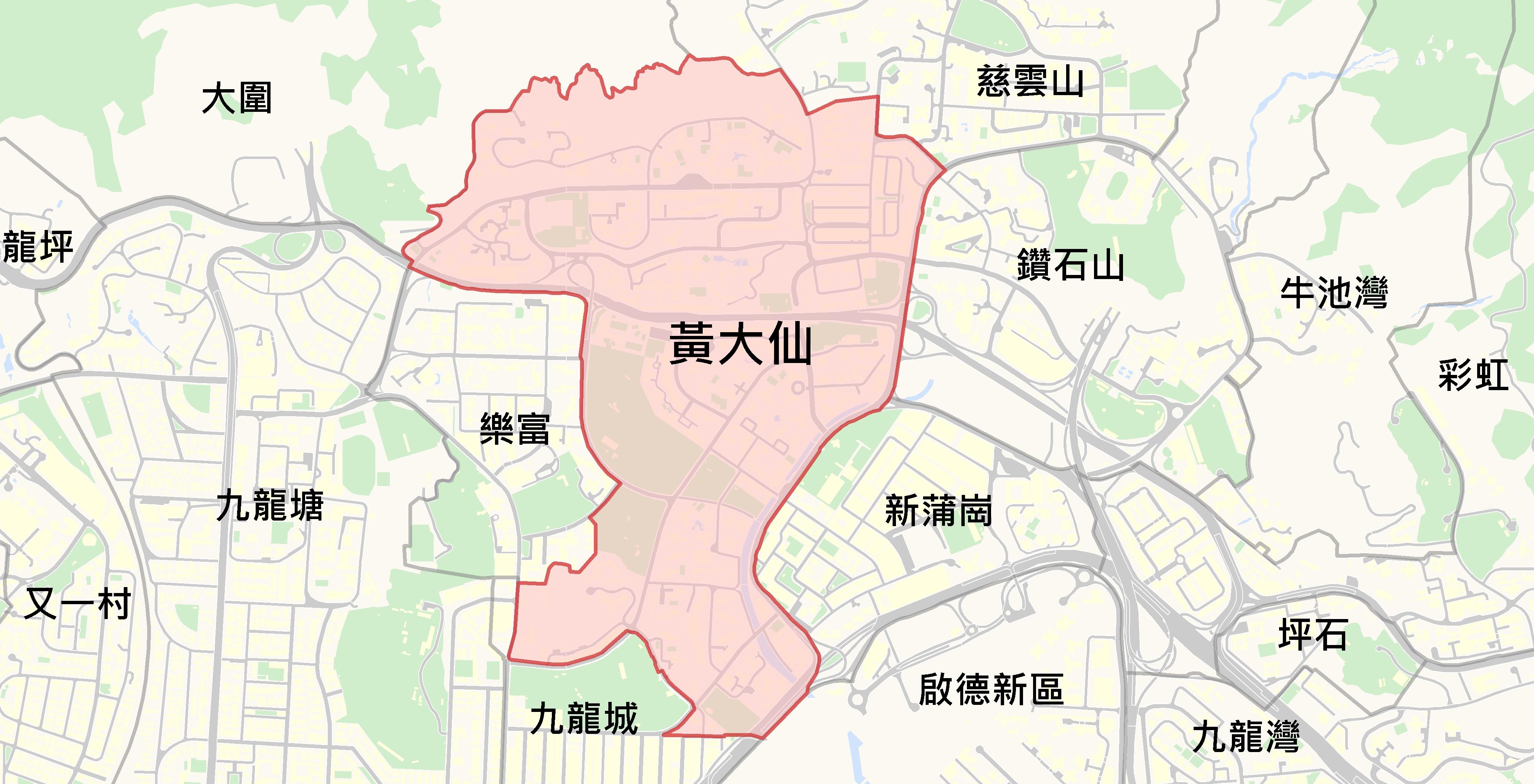 黃大仙@中原樓市片區