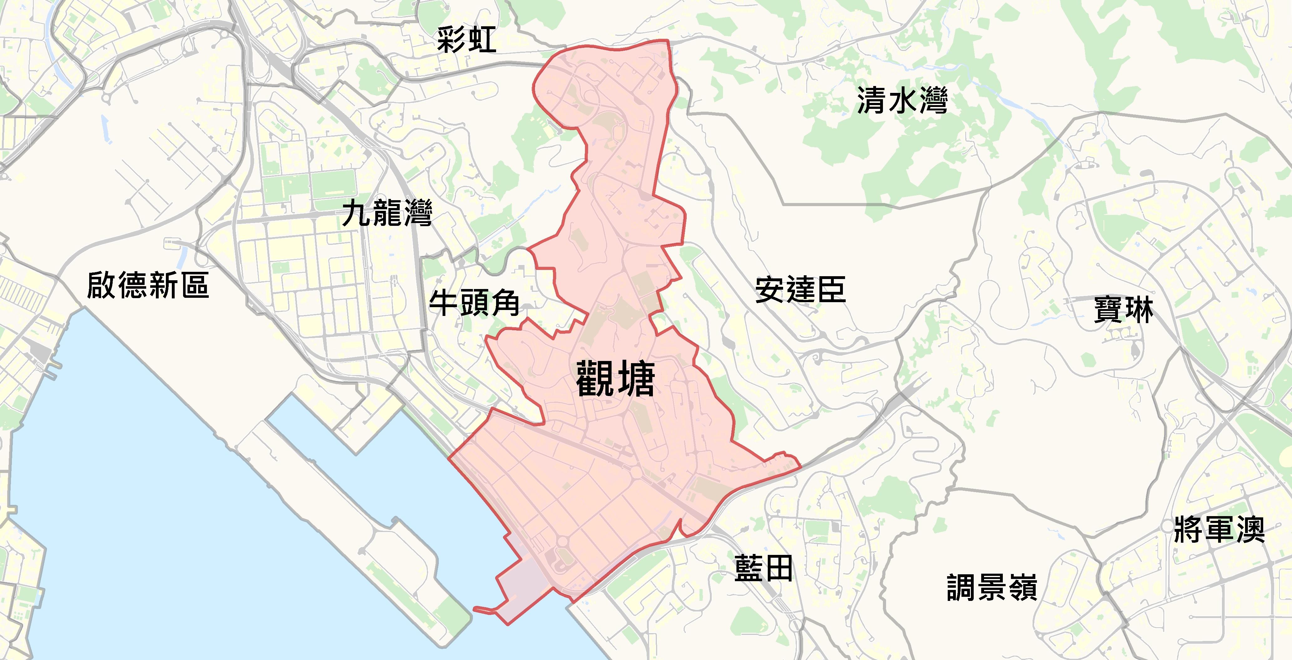 觀塘@中原樓市片區